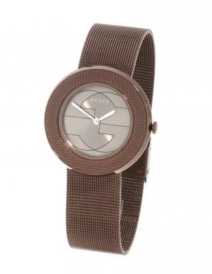 Reloj GUCCI para señora.En acero marrón.