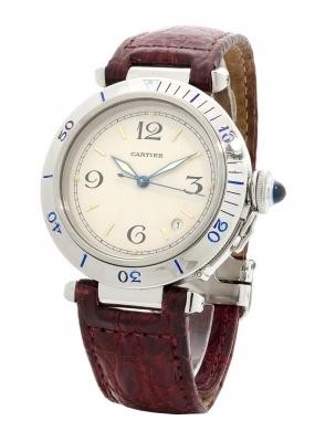 Reloj CARTIER Pasha, automático, para caballero.