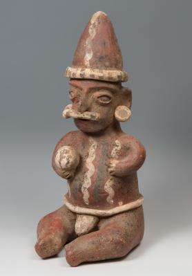 Figura. Cult Nayarit, O México, 100 a. C.- 250 d. C.