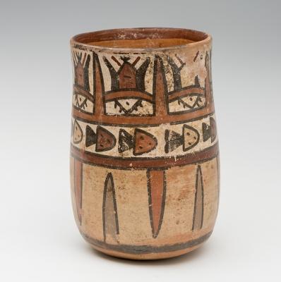 Kero nazca; Perú, 0-600 d. C