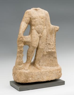 Escultura de Hércules; Roma, hacia el siglo II - IV d.