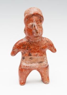 Figura de pijuano; Cultura Colima, México Occidental, 100 a.