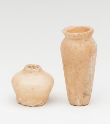 Pareja de recipientes; Egipto, primera dinastía, primer