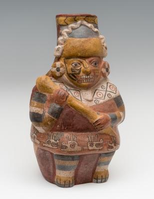 Vasija; Cultura Huari, Perú, 700-1100 d. C