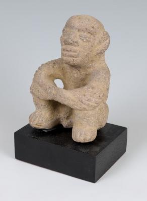 Figura masculina. Costa Rica, 800-1200 d. C.