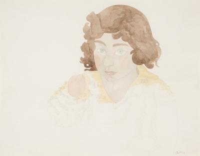 """""""Retrato de muchacha"""". CASTILLO CASALDERREY, Jorge"""