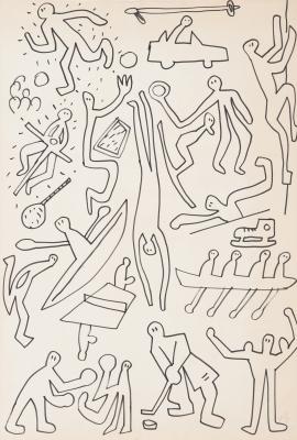 """Figuras"", 1989. PAGOLA, Javier"