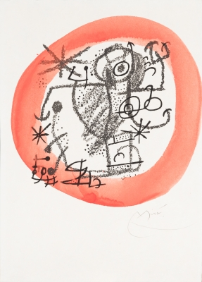 """Sin título. Serie """"Les esencies de la terra"""" Joan Miró y Ferrá"""