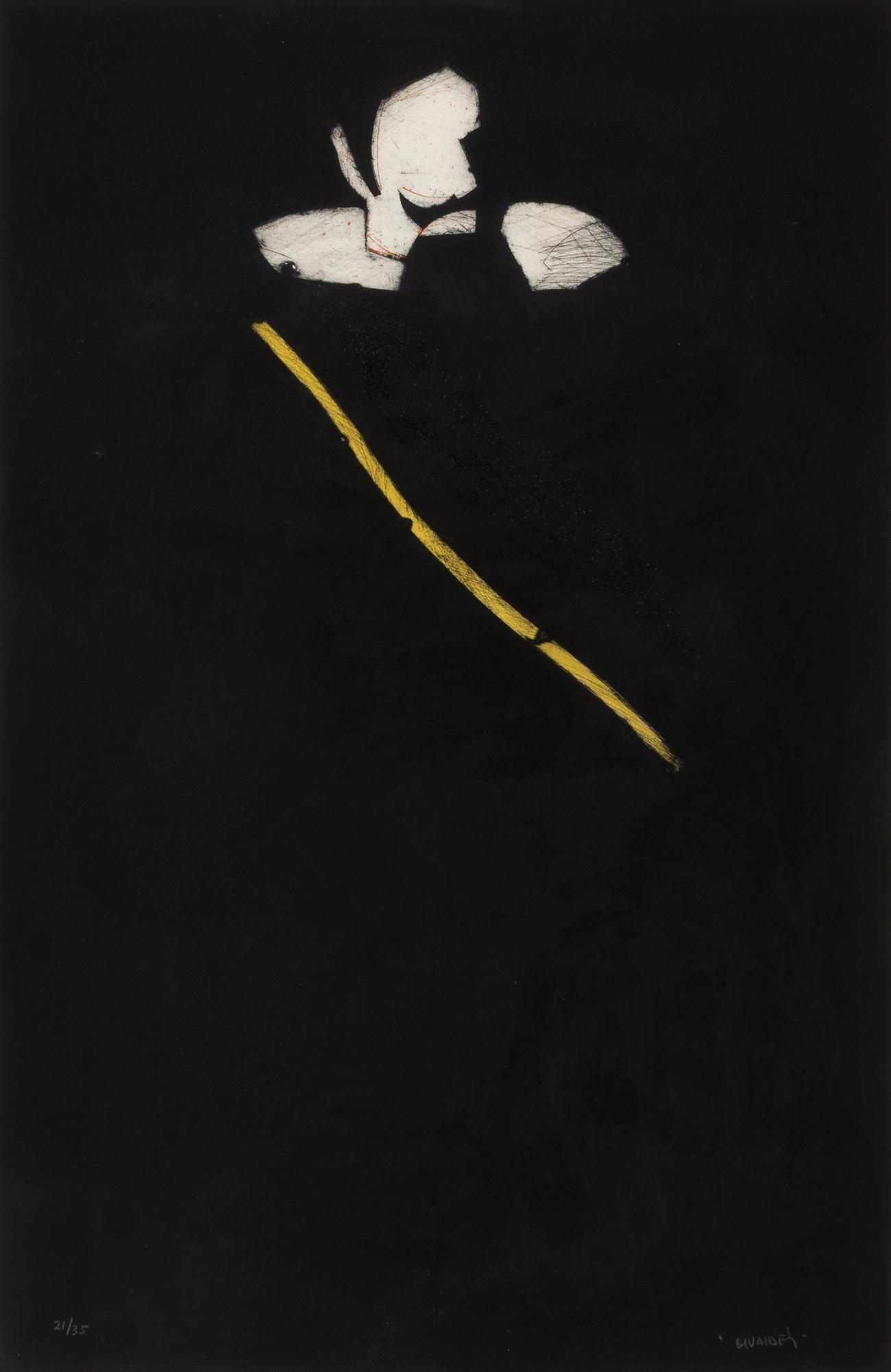 """Conde Duque de Olivares"", 1987. MANOLO VALDÉS"