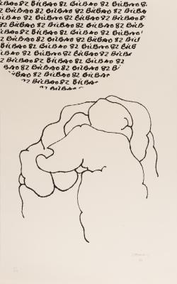 """Bilbao Mundial"", 1982. EDUARDO CHILLIDA JUANTEGUI"
