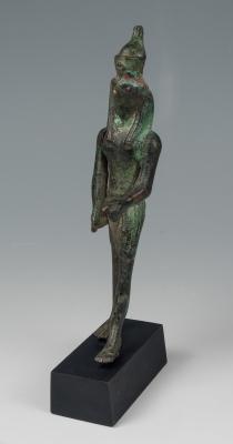 Figura de Horus; Egipto, Baja Época, 664-323 a.C.