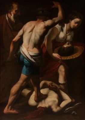 """Salomé con la cabeza de San Juan"". Siglo XVII"
