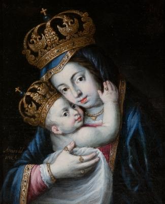 """""""Virgen de Belén"""". ARCO, Alonso del"""