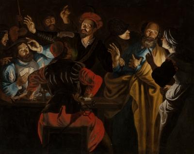 """""""La Negación de San Pedro"""". Seg de ROMBOUTS, Theodoor"""