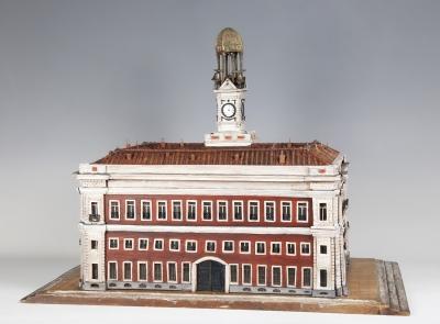 Real casa de correos de la puerta del Sol; Madrid, siglo XIX.