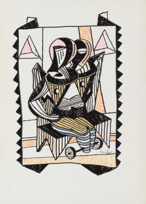 CARLOS AQUILINO (Madrid, 1947).Sin título.
