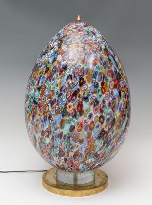 Lámpara de huevo; años 80.