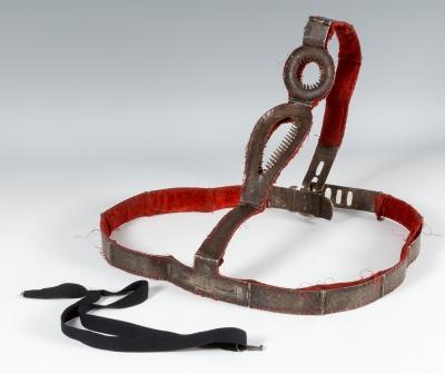Cinturón de castidad. Italia, finales del siglo XVIII.