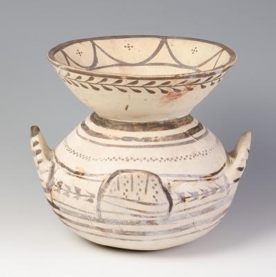 Vasija de la Magna Grecia, probablemente siglos IV-III a.