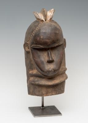 Máscara de Poro Kran, Liberia. Madera tallada