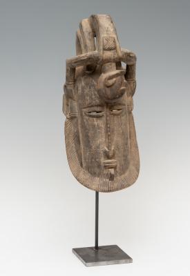 Máscara africana, Burkina Faso, siglo XX.