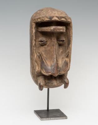Máscara de la cultura Dan; Liberia, S. XX