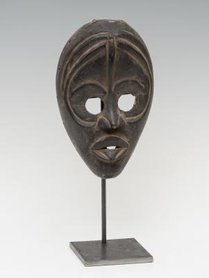 Máscara de la cultura Dan, Costa de Marfil, siglo XX.