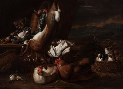 """GIACOMO DA CASTELLO"",JACOB VAN DER KERHOVEN (Amberes, c. 1637 – Venecia, c."