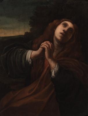 """""""María Magdalena"""". Escuela napolitana del siglo XVII."""