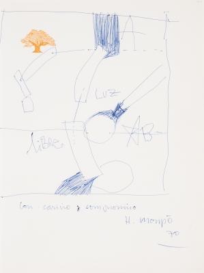 Sin título, 1970. HERNÁNDEZ MOMPÓ, Manuel