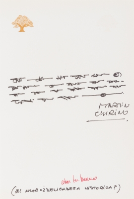 """""""El amor es delicadeza histórica?"""". CHIRINO, Martín"""