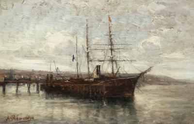 """""""Gran velero"""" Agustín Riancho y Gómez de la Mora"""