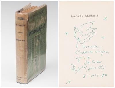 """Libro """"Poesía Española, Antología 1915-1931"""" Gerardo Diego"""