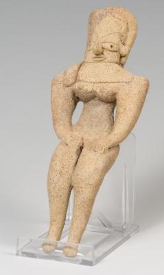 Ídolo del Valle del Indo. Tercer milenio a. C.