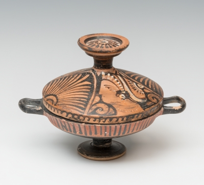 Lekanis; Apulia, siglos IV-III a. C