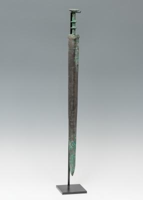 Espada. Dinastía Han, China, 206 a.