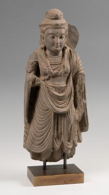 Escultura Buda; Gandhara, siglos II-III d. C