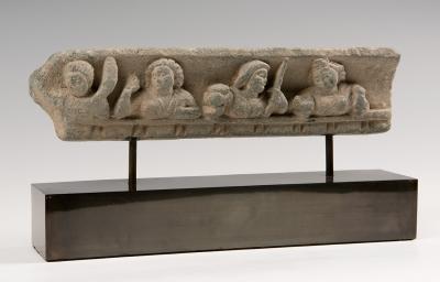 Friso; Gandhara, siglos II-III d. C