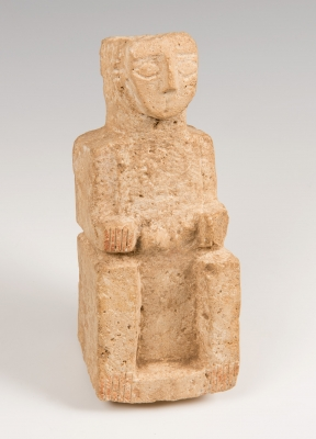 Figura sedente; Sur de Arabia, siglos VI-V a.