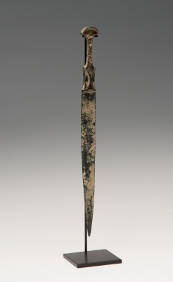 Puñal del Luristán; Irán, siglo IX-VIII a. C