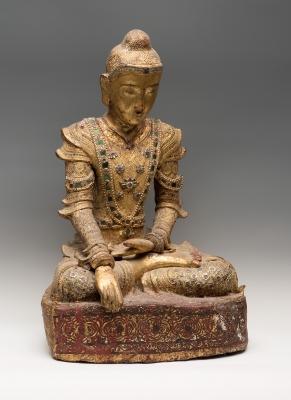 Estatua de Buda, Burma, siglo XVIII-XIX.