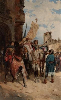 """""""Álvaro de  Luna"""", 1880. ÁNGEL LIZCANO MONEDERO"""