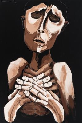 """""""El peregrino"""", 2002. Víctor Ferreira"""