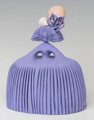 """GEMA GARCÍA MARTÍNEZ (Uceda, 1967).""""Giorgia con conchas""""."""