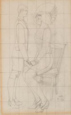 RICHARD LINDNER (Hamburg, 1901 - New York, 1978).