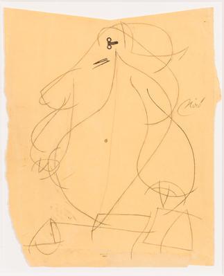 Joan Miró  Metal y grafito.