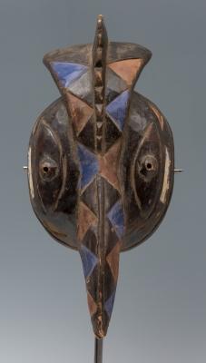 Máscara de ritual, Nigeria, siglo XX.