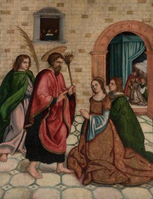 """""""Los reyes católicos casándose"""" MAESTRO BECERRIL"""