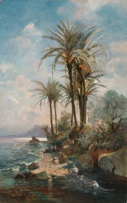 ESTEBAN VILLANUEVA Y VINARAO (Manila, documentado entre 1875 y 1881-Alicante, ?). Sin título.