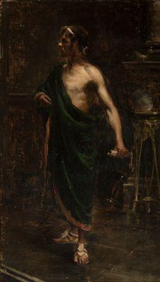 JOAQUIN SOROLLA Y BASTIDA (Valencia, 1863 - Cercedilla, Madrid, 1923).No title.